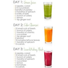 Juicing For Health And Weight Loss Liquid Cleanse, 3 Day Juice Cleanse, Juice Cleanse Recipes, Liver Detox Cleanse, Healthy Juice Recipes, Juicer Recipes, Healthy Detox, Healthy Juices, Healthy Smoothies