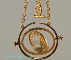 Harry potter classic time Turner necklace 4 by Bestfriendgiftshop, $1.99