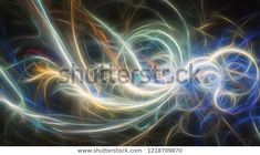"""Stock ilustrace """"Abstract Spiral Glowing Energy Waves"""" 1218709870 Spiral, Glow, Waves, Neon Signs, Illustration, Image, Author, Abstract, Illustrations"""