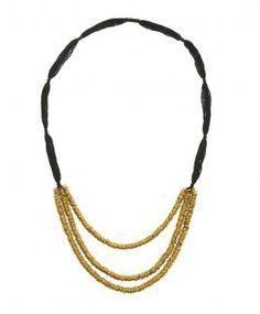 Bungalow 8, Black Tihara Necklace