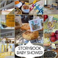 baby shower theme idea- I want this! ....In 5 years ; )