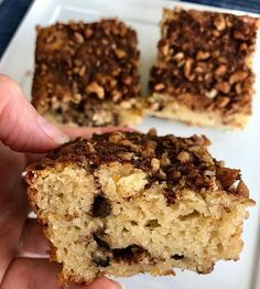 Lowcarb Sour Cream Coffee Cake Almond flour. Sour cream.
