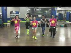 Zumba fitness oye santana ft pitbull youtube z u m b for Mirror zumba