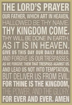 The Lord's Prayer Prints at AllPosters.com