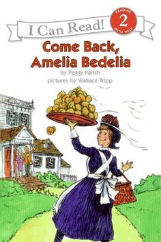 I loved this book series as a child  the one where she cooks a sponge cake is hilarious...and then bake a real sponge cake with the kids..literacy and cooking...together...