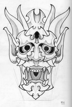 Resultado de imagen para mask tattoo