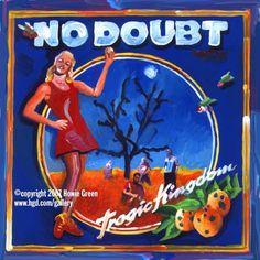 No Doubt Pop Art Album Cover