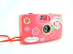 Strawberry Shortcake Rosita Fresita Toy 35mm Film Camera   - SOLD - Other items up for sale here! http://www.ebay.com/sch/pealfaro/m.html?_nkw=&_armrs=1&_from=&_ipg=&_trksid=p3686