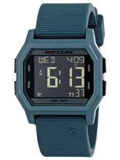 Rip Curl Unisex Atom Sport Watch with Blue Band Rip Curl, Sport Watches, Watches For Men, Watch Fan, Swiss Army Watches, Surf Outfit, Blue Band, Casio Watch, Digital Watch