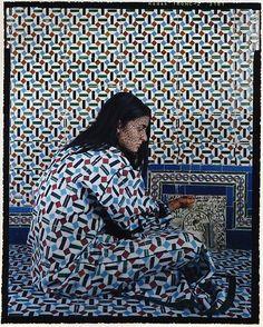 Harem #9, 2009 by Lalla Essaydi #ART