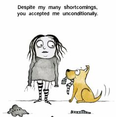 Thank you sooo much for loving me unconditionally too Dog Quotes, Animal Quotes, Cartoon Dog, Dog Cartoons, I Love Dogs, Puppy Love, Dog Comics, Crazy Dog Lady, Dogs And Puppies