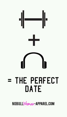 Weights + Music = The Perfect date...