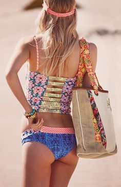 Cute two piece~Visit www.lanyardelegance.com for beautiful Beaded Lanyards and Crystal Eyeglass holders for women.