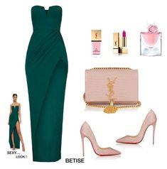 A fashion look from November 2015 featuring body con dress, black patent leather shoes and leather crossbody. Browse and shop related looks. Elegant Outfit, Elegant Dresses, Beautiful Dresses, Stylish Outfits, Fashion Outfits, Womens Fashion, Outfits Fiesta, Facon, Fashion Looks