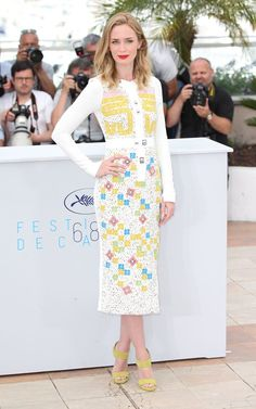 Pin for Later: All the Gorgeous Stars at the Cannes Film Festival Emily Blunt