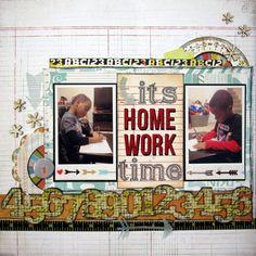 It's+Homework+Time - Scrapbook.com