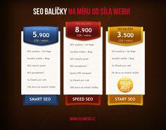 Ceník 2013: SEO balíčky od Síla webu Brno!