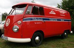 VW T1 Service Van Volkswagen Bus Camper, Vw Kombi Van, T1 Bus, Vw T1, Bus Advertising, Commercial Van, Combi Vw, Vw Cars, Vintage Vans
