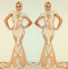 Michael Costello is my favorite dress designer! I love lace dresses that have the little detail to make your mind wonder.