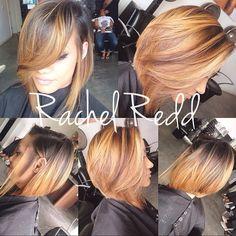 A Rachel Redd Hair Color