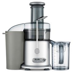 Breville the Juice Fountain Plus Juicer, Silver