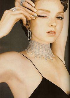 Lily Cole by Ben Dunbar-Brunton for Vogue UK Dece 2007