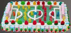 pastel de chuches para quien le gusta el futbol oe,oe,oe oe!!!!