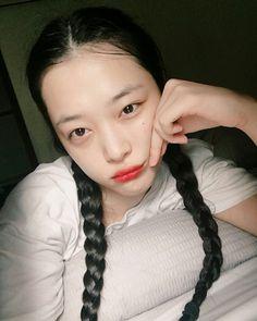 Sulli Choi, Little Peach, Kpop Aesthetic, Red Velvet, Jelly, My Girl, Selfie, Instagram, Style