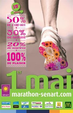 Marathon de Sénart. Le jeudi 1er mai 2014 à Sénart.