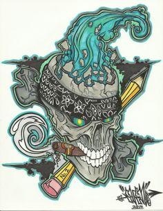 "Graffiti Blackbook work by ""EVEN ONE"""