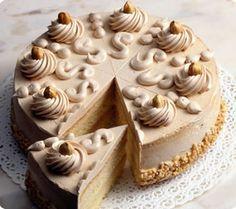 crema de cafe para cobertura Frosting Recipes, Cake Recipes, Dessert Recipes, Cake Cookies, Cupcake Cakes, Cake Fillings, Cake Shop, Cakes And More, No Bake Cake