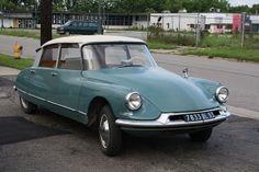 1961 Citroën ID19 Vert Meleze