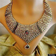 An exquisite kundan bridal set