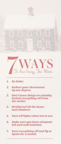 7 Ways to save energy this winter. Solar Energy Companies, Solar Energy Facts, Solar Energy System, Diy Solar Panel Kits, Solar Panels, Solar Installation, Energy Efficient Homes, Green Life, Free Quotes
