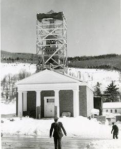 White Chapel under construction, 1956