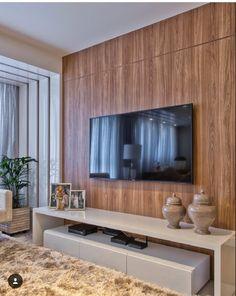 Tv Unit Furniture Design, Tv Unit Design, Modern Tv Cabinet, Tv Cabinet Design, Home Living Room, Living Room Designs, Living Spaces, Style At Home, Contemporary Home Offices