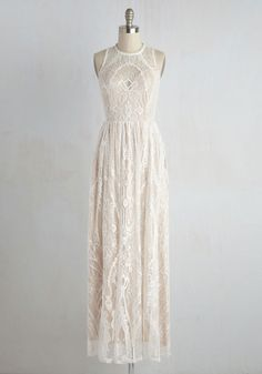 Ethereal Love Dress in White #modcloth #afffiliate *Beautiful!