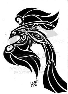 Phoenix tattoo by g3m1n1