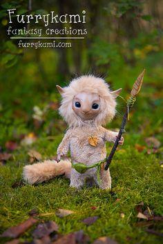 Art doll forest warrior by Furrykami-creatures on DeviantArt