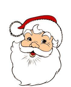 Dibujo De Color Para Imprimir Eventos Navidad Papa Noel Numero - Papa-noel-para-imprimir