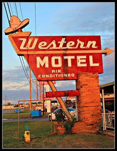 Western Motel - by Mike Garofalo