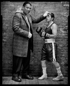 Muhammad Ali & Michael J. Fox