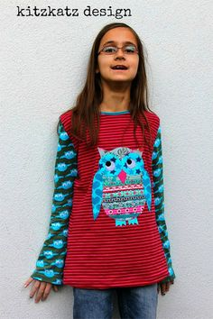 ANTONIA Schnittmuster Shirt Webband nähen farbenmix
