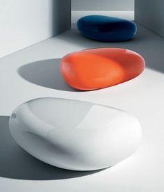 Koishi Coffee table - pouf White by Driade