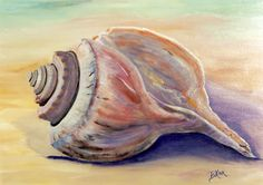 shell paintings - Google Search