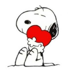 Happy Valentine's - Snoopy