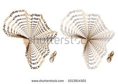 Sketch african letter text continent, African word - in the shape of the continent, Map of continent Africa - vector illustration Map Of Continents, African Words, Africa Continent, Bracelet Designs, Sketch, Ballet, Shapes, Stock Photos, Lettering