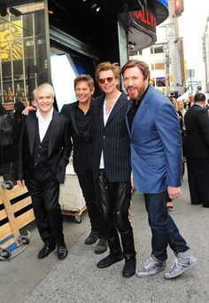 Duran Duran Photo - Duran Duran in New York to appear on 'Good Morning America'