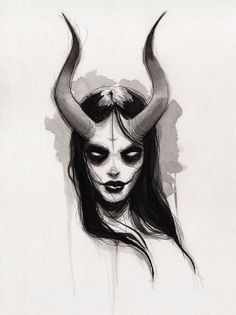 Creepy Drawings, Dark Art Drawings, Art Drawings Sketches, Gothic Drawings, Creepy Sketches, Dark Artwork, Scary Halloween Drawings, Sick Drawings, Fantasy Drawings