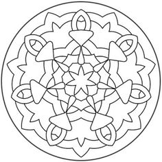 mandala/ coloring pages for grownups